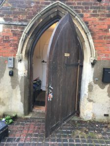 Church Life - Door