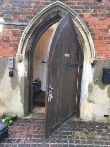 Church Life - Door