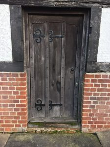 Thaxted Old Door
